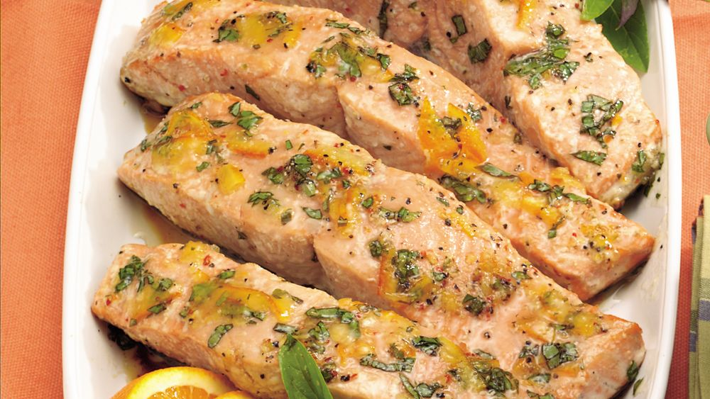 Citrus-Glazed Grilled Salmon