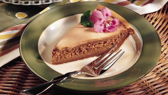 Mocha-Fudge Cheesecake