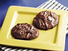 Black Magic Brownie Cookies