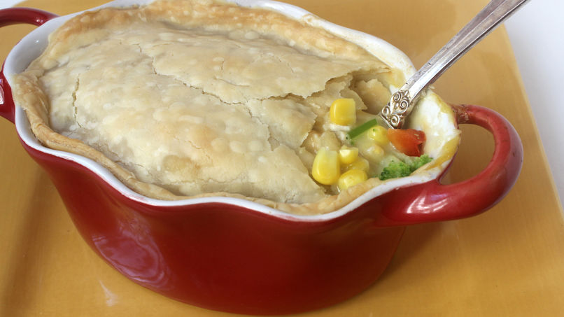 Chicken a la King Potpie