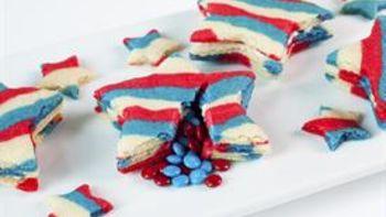 Star Piñata Sugar Cookies