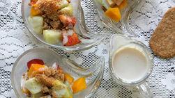 Fruit with Vanilla Cream Energy Snack