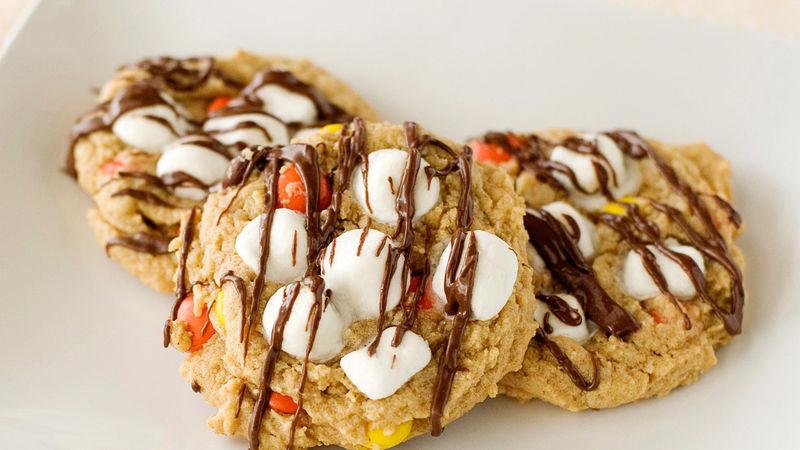 Peanut Butter Sundae Cookies