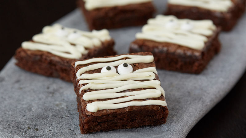 Vanilla Brownies With Cake Mix