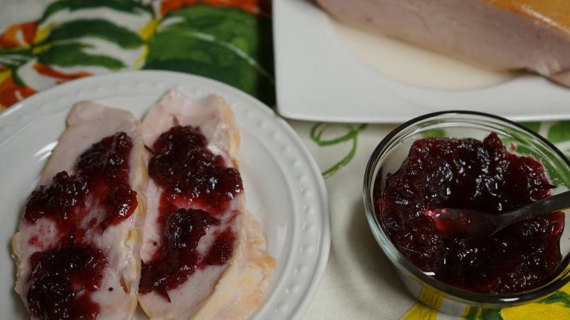 Salsa de Chipotle y Arándanos