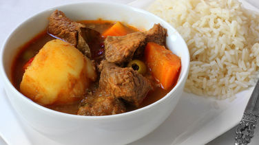 Carne Guisada Puertorriqueña