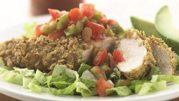 Skinny Crispy-Coated Chicken