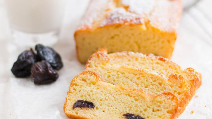 Ricotta and Prune Loaf