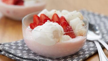 Strawberry Shortcake Yogurt Bowl