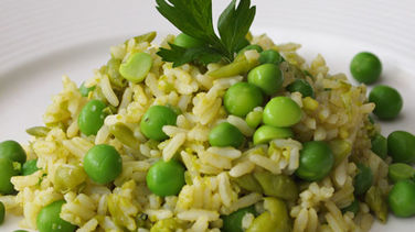 Rice with Peas