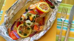 Baked Salmon en Papillote