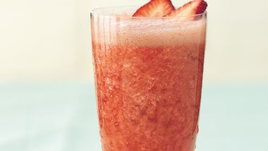 Strawberry-Rhubarb Slush