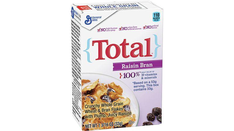Total™ Raisin Bran Cereal Single Serve