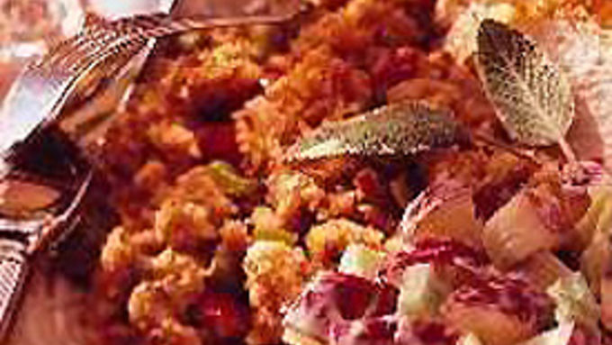 Roasted Vegetable and Cornbread Stuffing