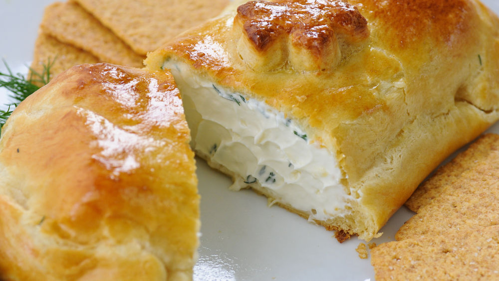 Baked Cheese in Pastry