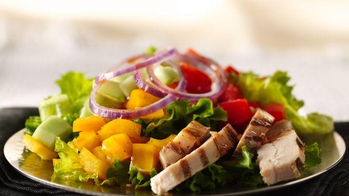 Gazpacho-Style Chicken Salad