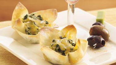 Spinach Dip Crisps