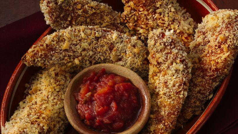 Lomitos de Pollo a la Tex-Mex
