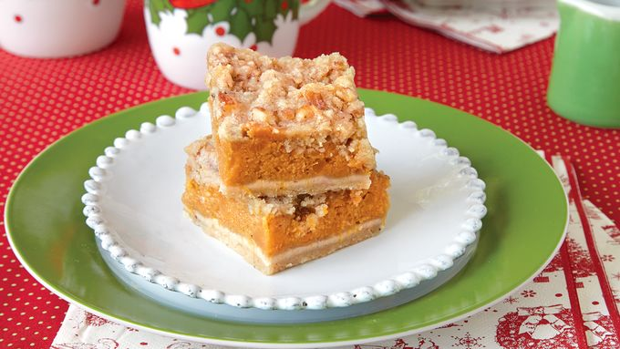 Sweet Potato Streusel Bars