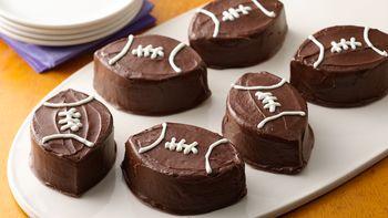 Brownie Footballs