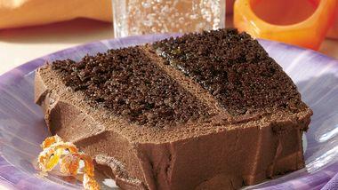 Orange-Mocha-Chocolate Cake