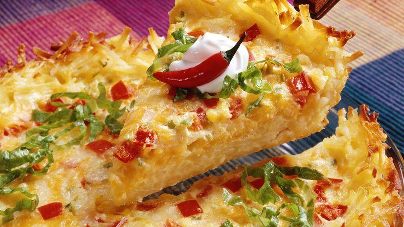 Cheesy Fiesta Pie