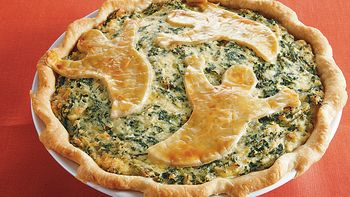 Spooky Spinach Pie