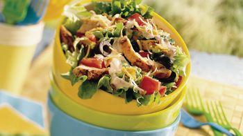 Southwestern Chicken Taco Salad