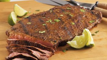 Spicy Chili Lime Flank Steak