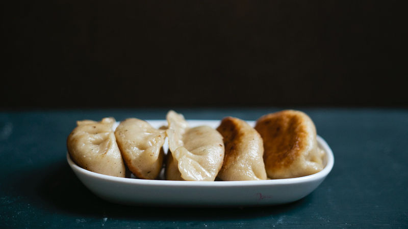 Chinese Chicken Pot Stickers recipe from Betty Crocker
