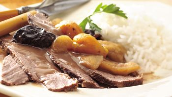 Slow-Cooker Sweet and Savory Brisket of Beef