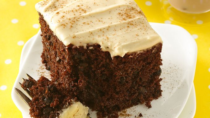 Chocolate Chai Latte Cake