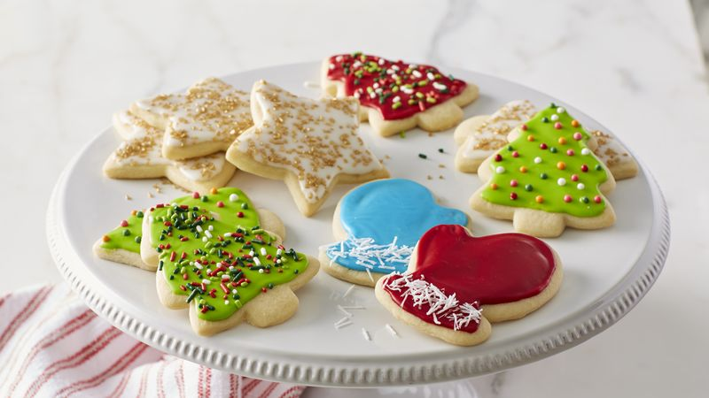 Classic Christmas Sugar Cookie Cutouts Recipe From Betty