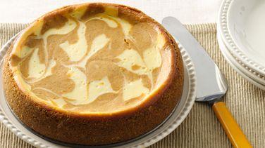 Slow-Cooker Pumpkin Swirl Cheesecake
