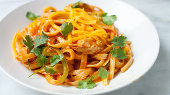 One-Pot Cheesy Chicken Fettuccine