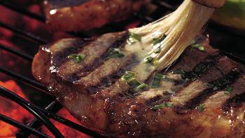 Lemon-Pepper Steaks