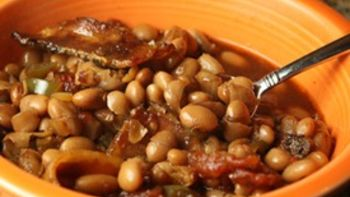 Beer and Bacon Baked Beans