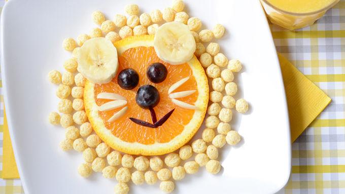 A Lovely Lion Snack