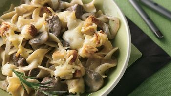 French Onion-Beef-Noodle Bake