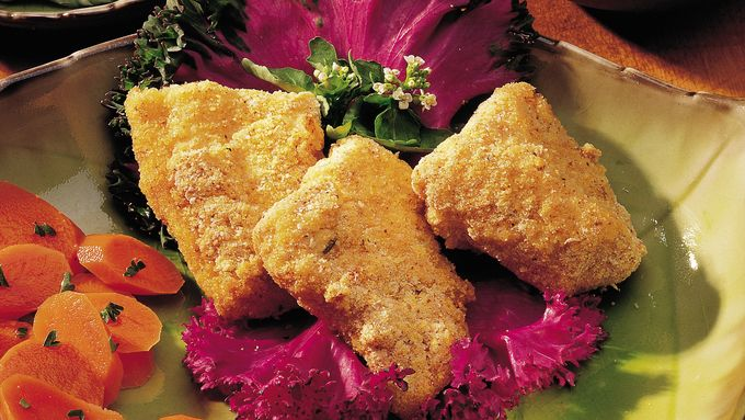 Cajun Oven Fried Trout