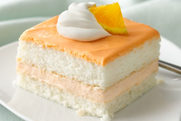 Orange Cream Mousse Cake | General Mills Convenience and ...