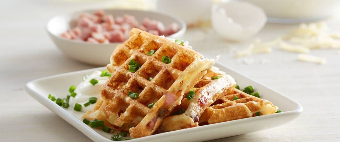 Ham And Swiss Waffles Recipe From Betty Crocker