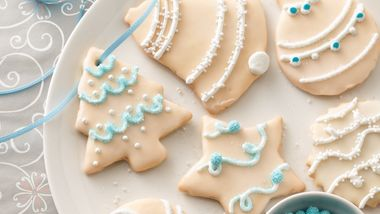 Christmas Butter Cookie Cutouts