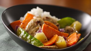 Caribbean Pork and Jasmine Rice