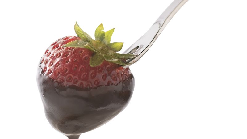 Simple Dark Chocolate Fondue