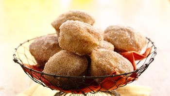 Indian Spiced Mini Doughnut Muffins