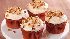 Apple Butter Pecan Cupcakes Recipe Tablespoon Com