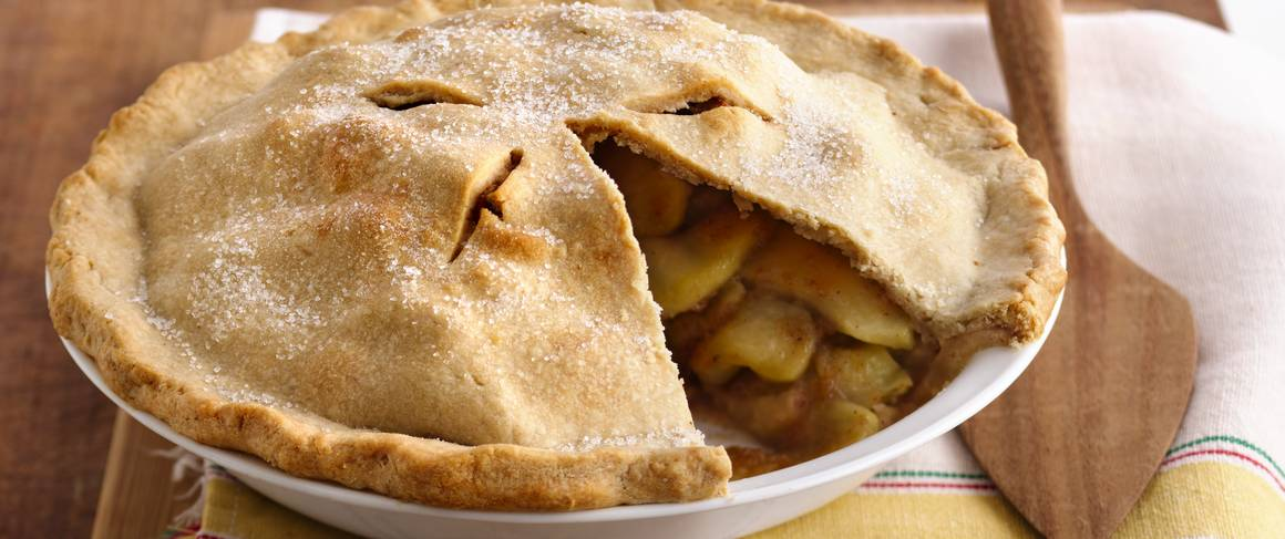 Scrumptious Apple Pie recipe from Betty Crocker