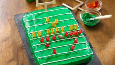 Football Field Brownies