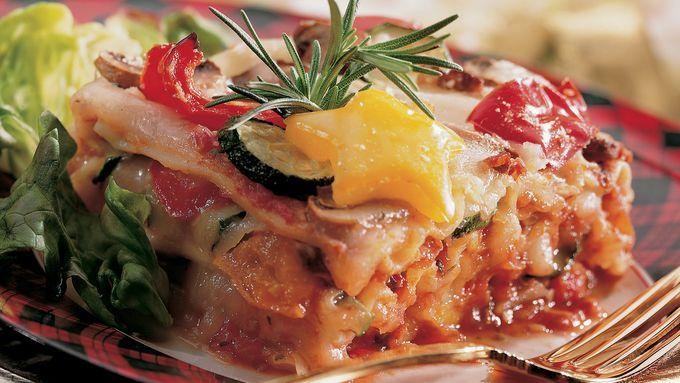 Roasted-Vegetable Lasagna